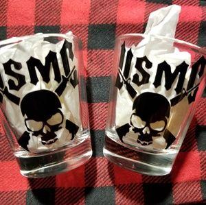Other - Usmc shot glass